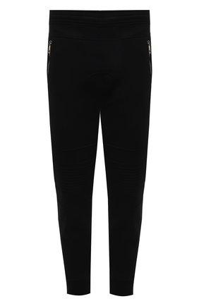 Мужские джоггеры из вискозы NEIL BARRETT черного цвета, арт. PBJP213/Q500C | Фото 1