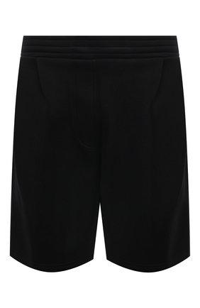 Мужские шорты из вискозы NEIL BARRETT черного цвета, арт. PBJP242S/Q500 | Фото 1