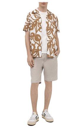 Мужские шорты ASPESI бежевого цвета, арт. S1 A CQ32 G457   Фото 2