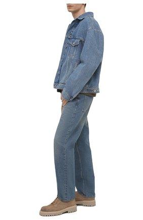 Мужские замшевые дерби VIC MATIE бежевого цвета, арт. 1Z5933U.Y02Z010315 | Фото 2
