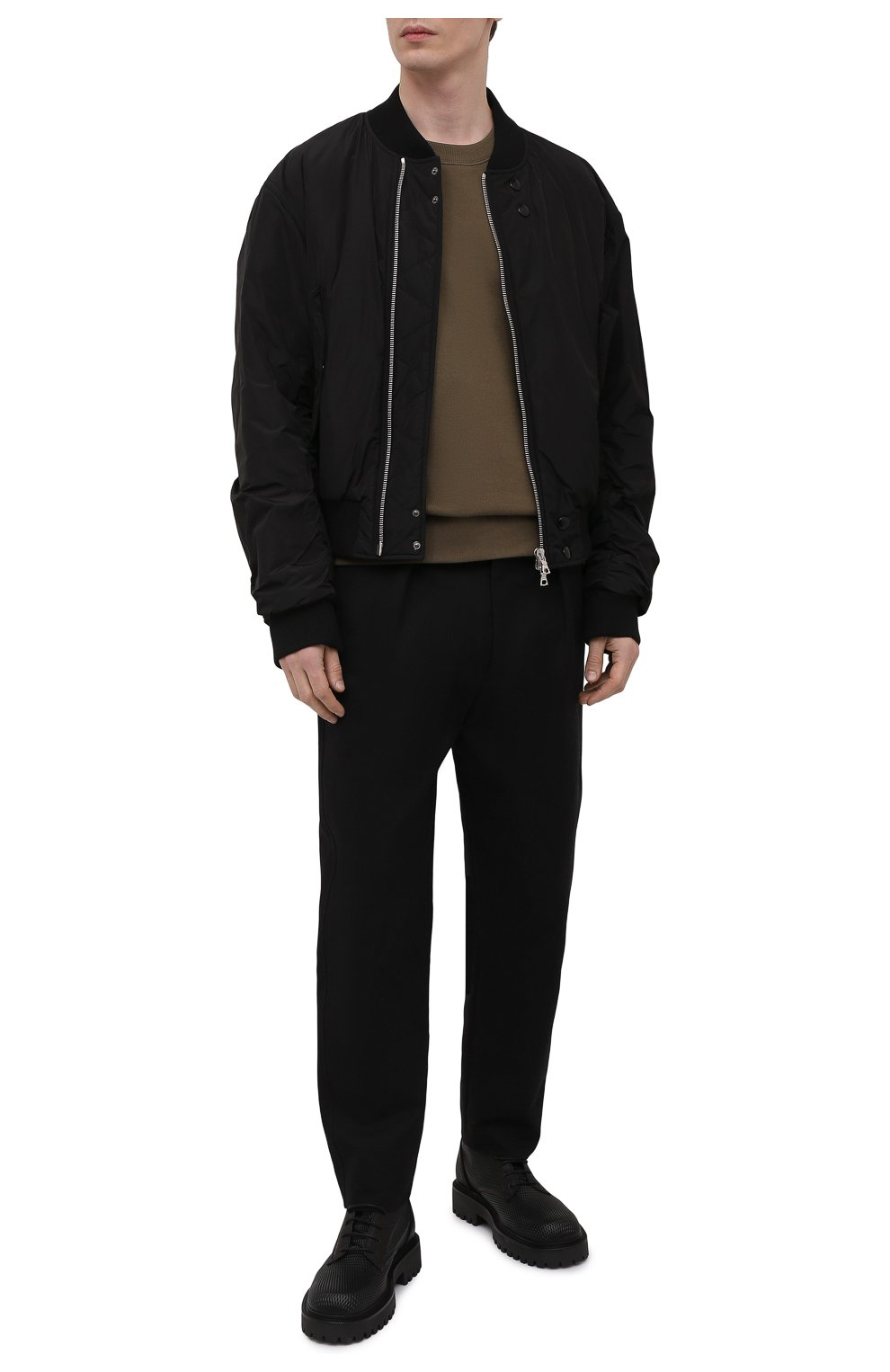 Мужские кожаные ботинки VIC MATIE черного цвета, арт. 1Z5928U.Y02Z130101   Фото 2