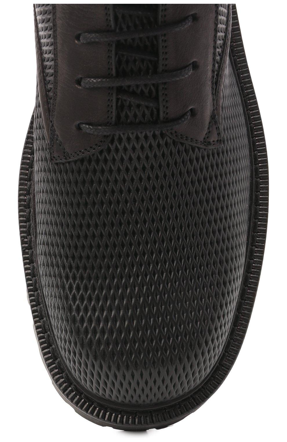 Мужские кожаные ботинки VIC MATIE черного цвета, арт. 1Z5928U.Y02Z130101   Фото 5