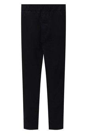 Мужские хлопковые брюки JIL SANDER темно-синего цвета, арт. JSMS310618-MS243800   Фото 1