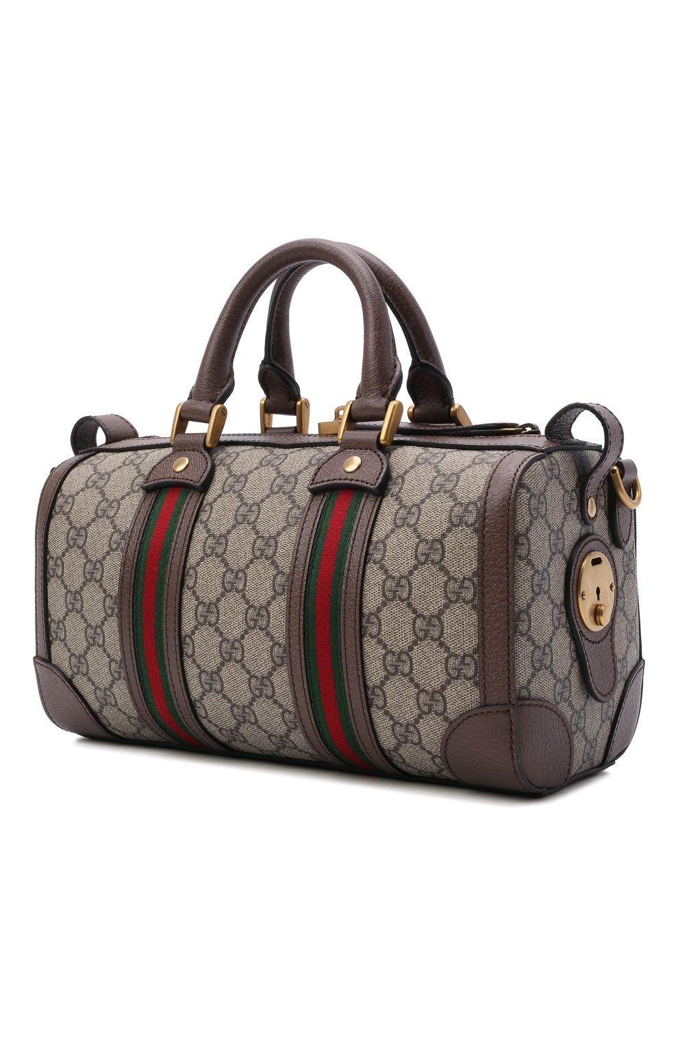Мужская дорожная сумка GUCCI бежевого цвета, арт. 645024/96IWT | Фото 3