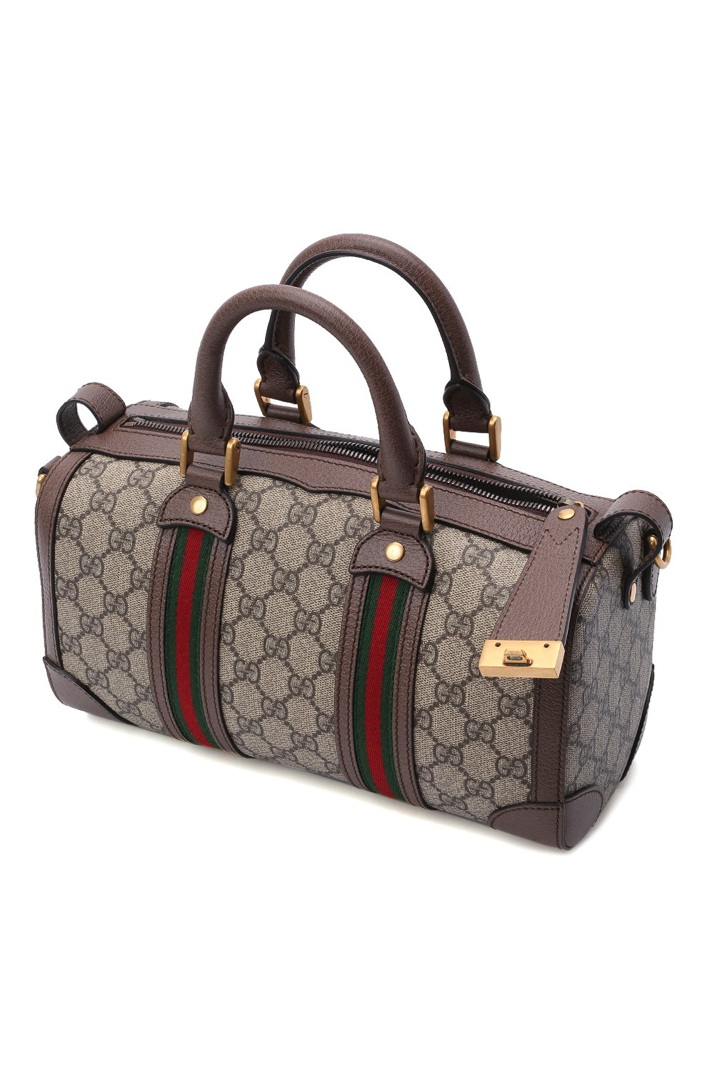 Мужская дорожная сумка GUCCI бежевого цвета, арт. 645024/96IWT | Фото 4