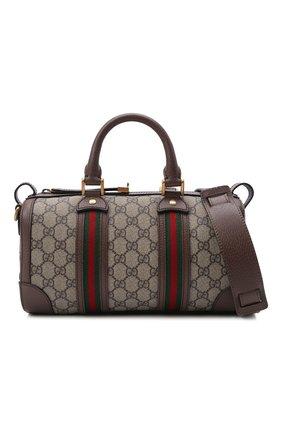 Мужская дорожная сумка GUCCI бежевого цвета, арт. 645024/96IWT | Фото 5
