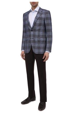 Мужские кожаные лоферы BARRETT темно-коричневого цвета, арт. B211U021.1/ALCE STAMPAT0 | Фото 2