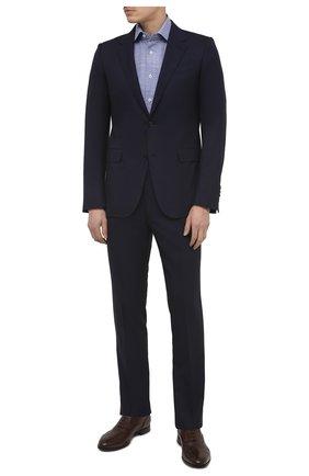 Мужские кожаные оксфорды BARRETT светло-коричневого цвета, арт. B112U032.9/CERV0 ASP0RTABILE | Фото 2