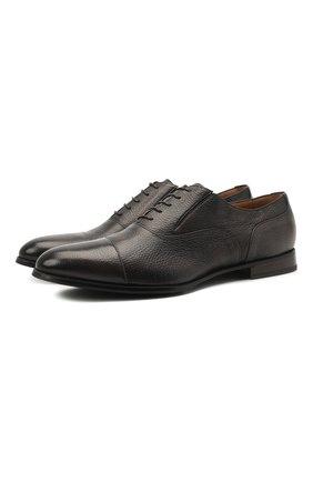 Мужские кожаные оксфорды BARRETT коричневого цвета, арт. B112U032.8/CERV0 ASP0RTABILE | Фото 1