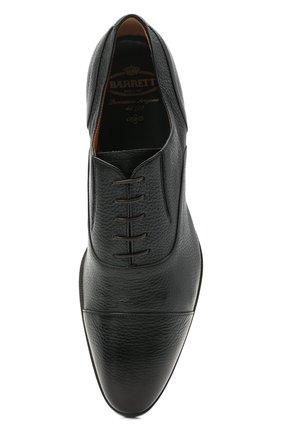 Мужские кожаные оксфорды BARRETT темно-зеленого цвета, арт. B112U032.6/CERV0 ASP0RTABILE | Фото 5 (Материал внутренний: Натуральная кожа; Стили: Классический)