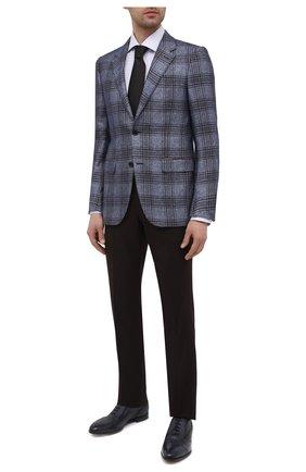 Мужские кожаные оксфорды BARRETT синего цвета, арт. B112U032.5/CERV0 ASP0RTABILE | Фото 2