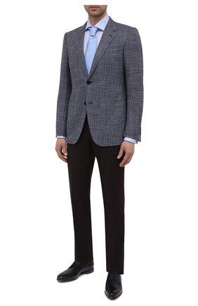Мужские кожаные дерби BARRETT темно-синего цвета, арт. 211U037.2/BETIS CREAM | Фото 2