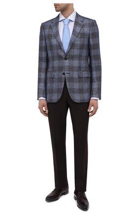 Мужские кожаные дерби BARRETT бордового цвета, арт. 211U037.1/BETIS CREAM | Фото 2