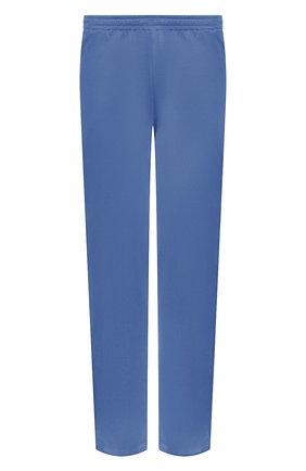 Мужские хлопковые домашние брюки ZIMMERLI синего цвета, арт. 3460-95304 | Фото 1