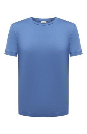 Мужская хлопковая футболка ZIMMERLI синего цвета, арт. 3460-96046 | Фото 1