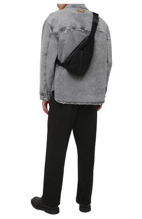 Мужская текстильная поясная сумка THOM KROM черного цвета, арт. BAG 3   Фото 2