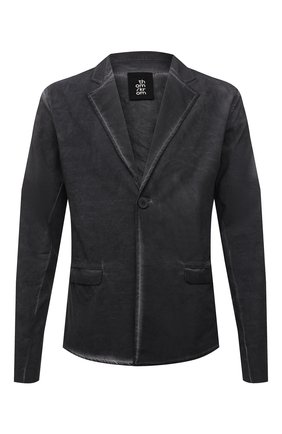 Мужской пиджак изо льна и вискозы THOM KROM темно-серого цвета, арт. M SJ 454   Фото 1