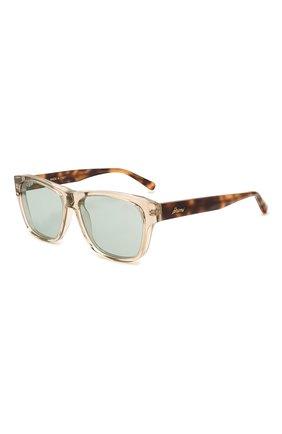 Мужские солнцезащитные очки BRIONI бежевого цвета, арт. 0DC600/P3ZAC | Фото 1