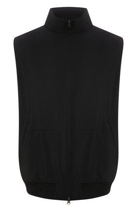 Мужской жилет KIRED черного цвета, арт. WMAXBSMW6905014000/64-74 | Фото 1