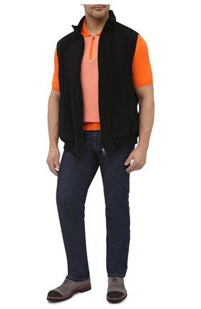 Мужской жилет KIRED черного цвета, арт. WMAXBSMW6905014000/64-74 | Фото 2