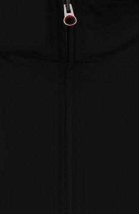Мужской жилет KIRED черного цвета, арт. WMAXBSMW6905014000/64-74   Фото 5 (Кросс-КТ: Куртка; Big sizes: Big Sizes; Материал внешний: Синтетический материал; Длина (верхняя одежда): Короткие; Стили: Кэжуэл)