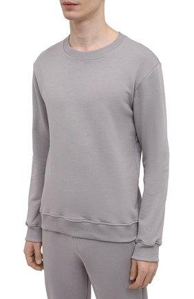 Мужской хлопковый спортивный костюм SEVEN LAB серого цвета, арт. 66SWP21-B#cr grey | Фото 2