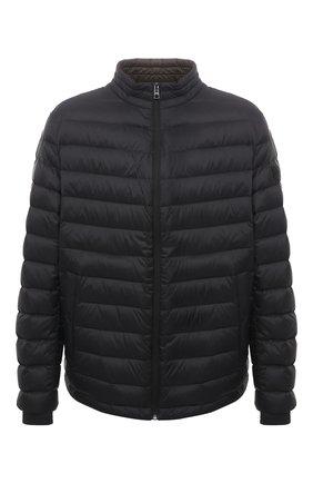 Мужская пуховая куртка BOSS черного цвета, арт. 50448695   Фото 1