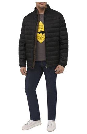 Мужская пуховая куртка BOSS черного цвета, арт. 50448695   Фото 2