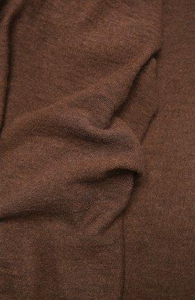 Женский кашемировый шарф helsinki BALMUIR коричневого цвета, арт. 122102   Фото 2