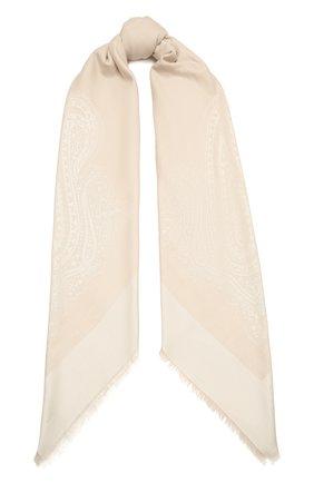 Женская шаль capri BALMUIR бежевого цвета, арт. 310700   Фото 1