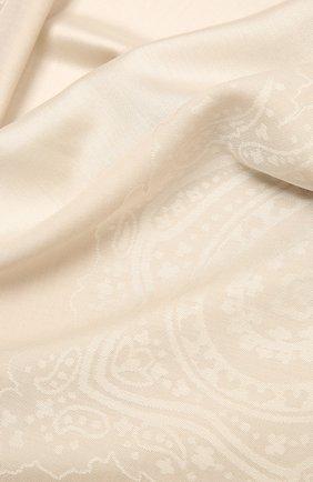 Женская шаль capri BALMUIR бежевого цвета, арт. 310700   Фото 2