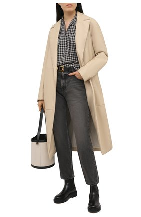 Женские кожаные челси gancini SALVATORE FERRAGAMO черного цвета, арт. Z-07413261C   Фото 2
