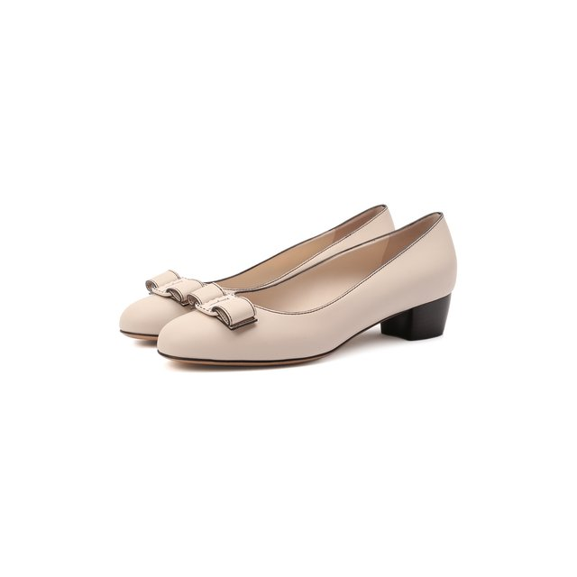 Кожаные туфли Vara Bow Salvatore Ferragamo