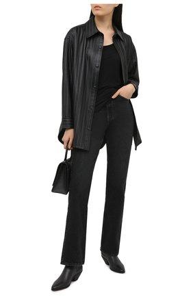 Женская футболка ATM ANTHONY THOMAS MELILLO черного цвета, арт. AW1005-MJ | Фото 2