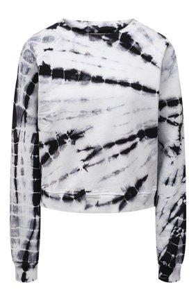 Женский хлопковый свитшот ELECTRIC&ROSE черно-белого цвета, арт. LFCV08-AMBIENT | Фото 1