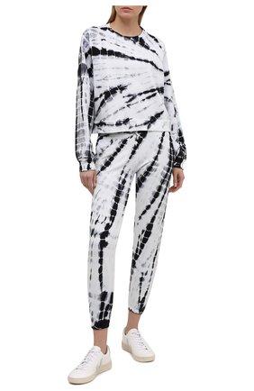 Женский хлопковый свитшот ELECTRIC&ROSE черно-белого цвета, арт. LFCV08-AMBIENT | Фото 2