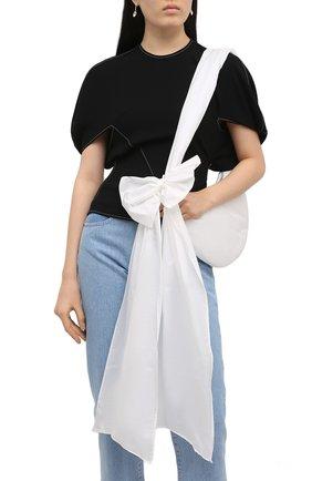 Женская сумка REDVALENTINO белого цвета, арт. VQ0B0C44/BAA   Фото 2