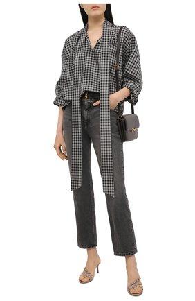 Женские кожаные мюли rockstud VALENTINO бежевого цвета, арт. VW2S0Y92/V0D   Фото 2