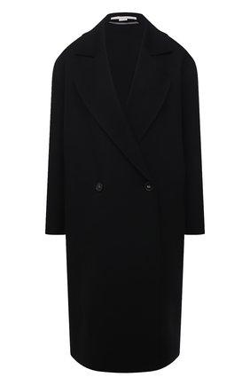 Женское шерстяное пальто STELLA MCCARTNEY черного цвета, арт. 602900/SPB05 | Фото 1