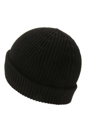 Женская шерстяная шапка VETEMENTS черного цвета, арт. UE51SA500B 1399/W | Фото 2