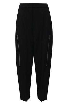 Женские шерстяные брюки STELLA MCCARTNEY черного цвета, арт. 602929/SPA28 | Фото 1