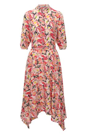 Женское шелковое платье STELLA MCCARTNEY розового цвета, арт. 602910/SRA27   Фото 1