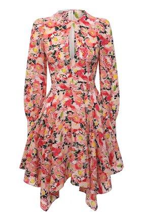 Женское шелковое платье STELLA MCCARTNEY розового цвета, арт. 602908/SRA27 | Фото 1