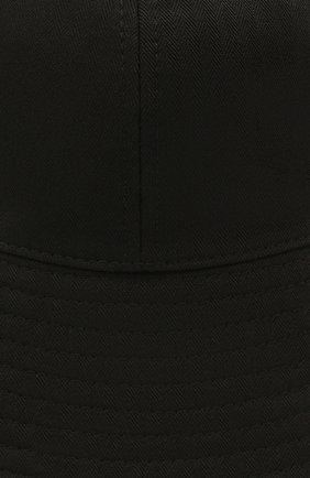 Женская хлопковая панама JIL SANDER черного цвета, арт. JPPS590911-WS241900 | Фото 3