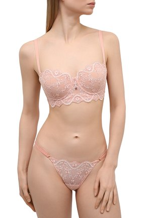 Женские трусы-стринги RITRATTI MILANO светло-розового цвета, арт. 72477 | Фото 2