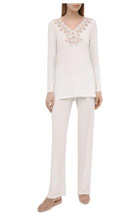 Женская пижама RITRATTI MILANO белого цвета, арт. 72485 | Фото 1