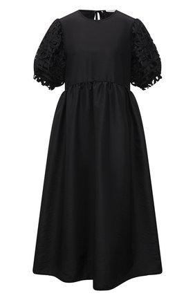 Женское платье CECILIE BAHNSEN черного цвета, арт. SC21-0005 | Фото 1