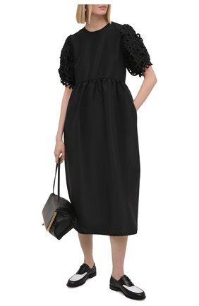 Женское платье CECILIE BAHNSEN черного цвета, арт. SC21-0005 | Фото 2