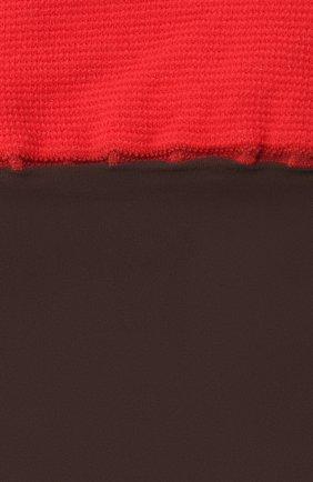 Женские гольфы DRIES VAN NOTEN коричневого цвета, арт. 211-11901-040 | Фото 2