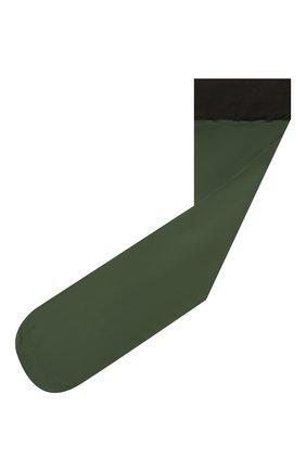 Женские гольфы DRIES VAN NOTEN зеленого цвета, арт. 211-11901-040 | Фото 1